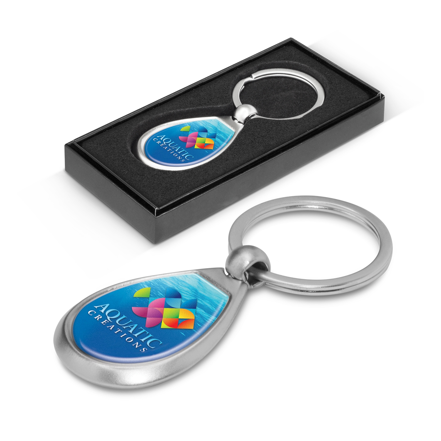 100324-0-Drop Metal Key Ring