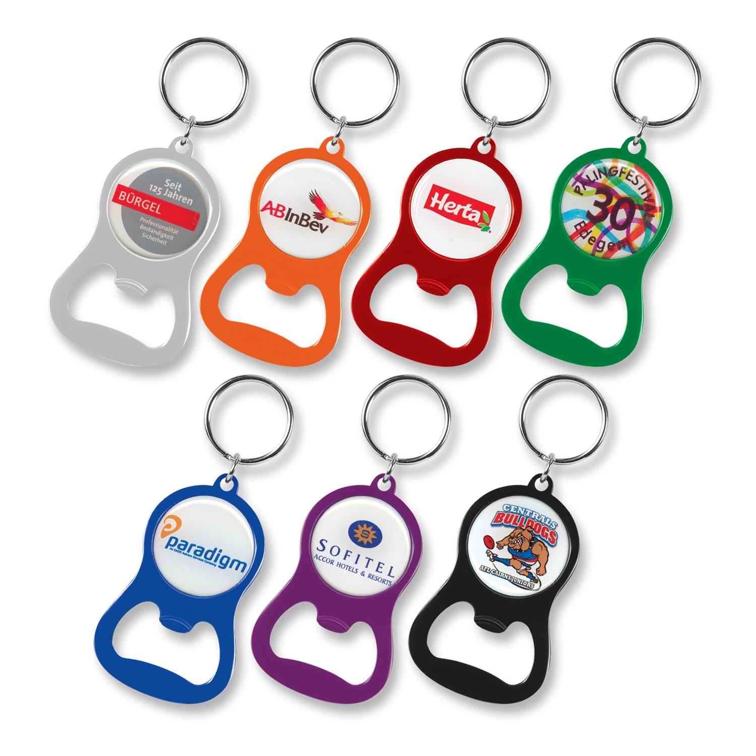107106-0-Chevron Bottle Opener Key Ring